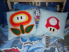 And Who Says You Can't?: SUPER MARIO MUSHROOM PILLOW