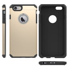 For Apple iphone 7 7 plus TPU+PC Silicon Hybrid Armor Shockproof Back Cover #Yihailu