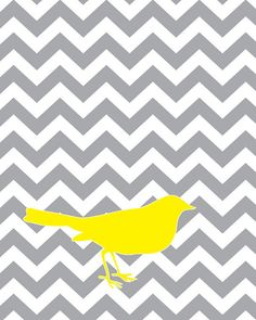 Chevron AND gray and yellow!