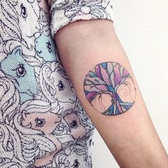 Celestial, Beautiful Tree Tattoos | INKEDD