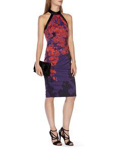 KAREN MILLEN Floral Print Dress | Bloomingdale's