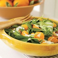 Spinach and Mandarin Orange Salad