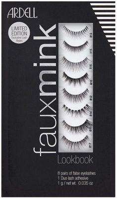 b2969eba3f8 Faux Mink Lash Lookbook 8 Pairs + Duo | Ulta Beauty #Lashes Nepwimpers,  Valse
