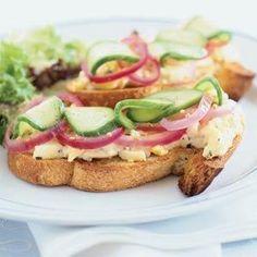 Sumptuous Egg Salad Sandwiches   MyRecipes.com
