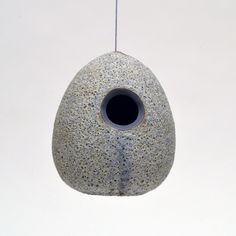 ModPod Birdhouse, Luna Crater; Heather Rosenman art design shop   https://www.etsy.com/shop/ArtDesignShop