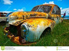 Old Rusty Car Stock Photos - Image: 14212283