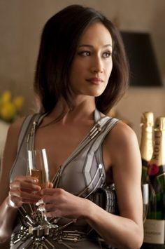 "Maggie Q and ""Nikita""      More lusciousness at www.myLusciousLife.com"