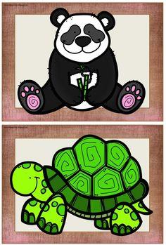 Grundschule Englisch: Zoo animals Flashcards kostenlos