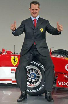 Michael Schumacher (Hürth-Hermülheim, 3 de enero de 1969), también conocido como Schumi y El Káiser, es un piloto de carreras alemán y el más laureado de la historia.  Tiene siete títulos mundiales con las escuderías Benetton Formula (dos) y Scuderia Ferrari (cinco). Tras su retirada de la Fórmula 1 en 2006 y su incursión en el mundo de las motocicletas en el 2007, en 2010 regresó a la competición a las órdenes de Ross Brawn en la escudería Mercedes GP.