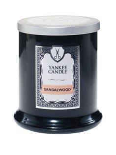 Yankee Candle Barbershop – Sandalwood Clean and classic, each scent in Yankee…