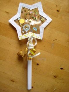 Do you make New Year resolutions with your children? Here's a lovely craft idea that encourages children to think about their hopes and dreams for the year ahead. Make a New Year wishing wand and find out what they wish for! ≈≈