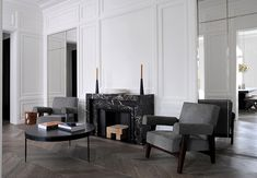 Amazing Interior Design Project by Joseph Dirand Architecture. Neuilly. #frenchinteriordesign #architecturedinterieur