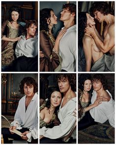 Sam Hueghan, Sam And Cait, Outlander Casting, Outlander Tv Series, Sam Heughan Outlander, Chick Flicks, Tv Times, Jamie And Claire, Hot Actors