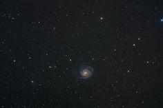 M101 - Ursa Major galaxies wide field | by xamad