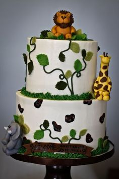 My Sweet and Saucy Bakery has such adorable cakes!  Great for kids birthdays!