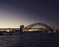 Good night to this lovely city #sydney #syd #sydneyharbour #sydneyharbourbridge #ellakingphotos by ella_king_photo_studio http://ift.tt/1NRMbNv