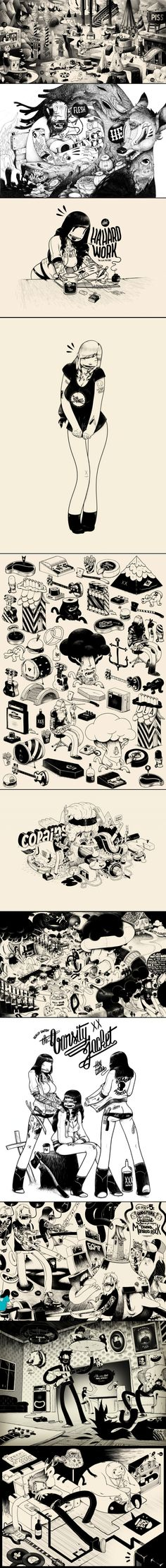 mcbess comic book #illustration