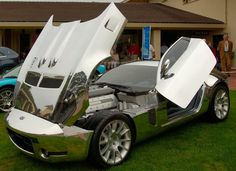 2005 Shelby GR-1 Concept - 6.4 liter V10, 6 speed manual.