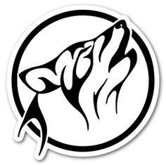 Utilisation libre du logo tribal de loup.org - Sur la piste du loup