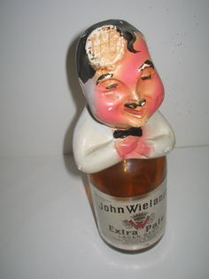 1955 statue for John Wieland's Extra Pale Beer by vintagehouses, $13.50