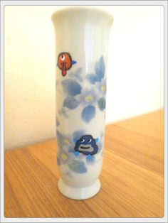 Upcycled Vintage Little Monster Vase by HistoriaAnimalium on Etsy