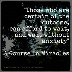 A Course In Miracles Quote