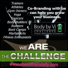 One Challenge,  3 months,  A Changed Life! #vilife #bodybyvi #visalus #shake #itookthechallenge #healthy #workout #healthyeating #orlandofitness #nutritionable #eathealthy #pittythetitty #motivation #gym #workout #cardio #muscle #bodybuilding #bodybuilders #exercise #inshape #fitness #weights #weightlost #nutrition #diet #planetfitness #testimonial #breastcancersurvivor #ibeatcancer #instagramfitness Website: www.checkthemdaily.com Email: checkthemdaily@aol.com