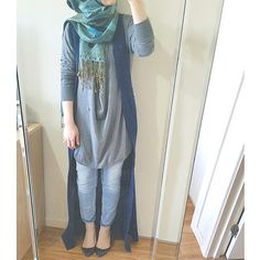 Fashion Hijab Outfits Casual Muslim For 2019 Islamic Fashion, Muslim Fashion, Modest Fashion, Fashion Outfits, Fashion Muslimah, Abaya Fashion, Style Fashion, Casual Hijab Outfit, Hijab Chic