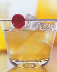 Stiletto  Ice  1 1/2 ounces bourbon  1/2 ounce amaretto  1/2 ounce fresh lemon juice  1 or 2 brandied or maraschino cherries  Fill a cocktail shaker with ice. Add the bourbon, amaretto and lemon juice and shake well. Strain into a rocks glass over ice and garnish with the Brandy-soaked cherries.