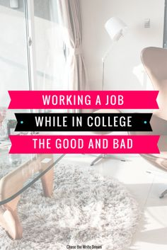 Working a job in college: the good and bad | Build career skills as a college student by getting a job and developing work experience that teaches you money management, time management, and more.