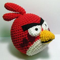 Download Angry Birds pattern - AmigurumiPatterns.net