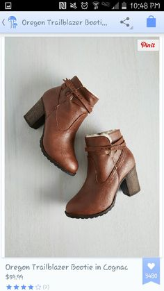 Nice winter boots to add with a dress and tights