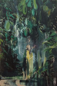 through the woods, 120x80cm, oil on canvas