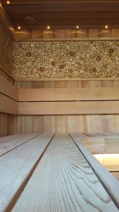 #Sauna red ceder & juniper #Sauna Auroom & Tulikivi