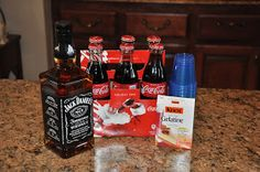 Jack Daniels and Coke Jello Shots!