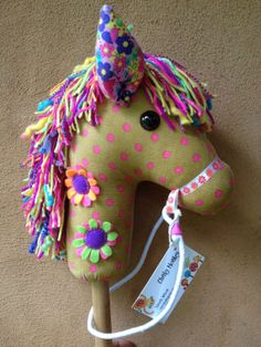 How To Make A Hobby Horse A Complete Craft Kit by chinkymonkey, $32.00