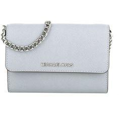 103d325c1bc3d Michael Kors Tasche   Jet Set Travel LG Phone Crossbody Dove   in grau    Umhängetasche für Damen