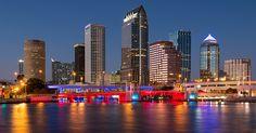 https://flic.kr/p/dBCgzu | Tampa Skyline | Downtown Tampa from Davis Island