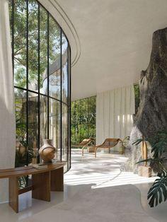 Dream Home Design, My Dream Home, Home Interior Design, Exterior Design, Interior Architecture, Natural Modern Interior, Natural Architecture, Mansion Interior, Dream House Interior