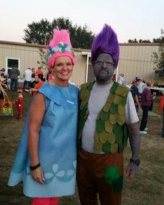 poppy troll and Branch