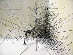 Hilos, threads by David Moreno, via Behance