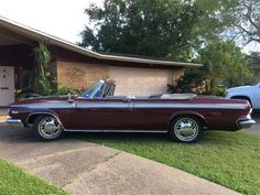 1964 Chrysler 300 Convertible $25,000  by Magnusson Classic Motors in Scottsdale AZ . Click to view more photos and mod info.
