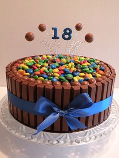 18th birthday cakes | 18th Birthday Kit Kat Cake | Flickr - Photo Sharing!