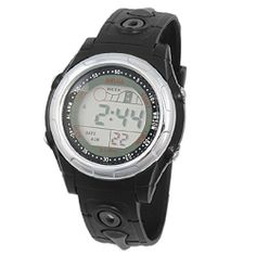Como Unisex 12/24 Time Format Display Sports Digital Watch by Como. $8.81. Description:9-perforations so that this sports watch fit for most wrist.Cold light function ensures you can see time clearly at dark.Selectable 12/24 time format display.