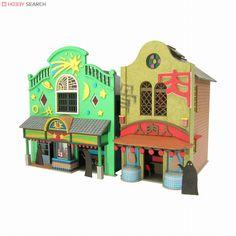 [Miniatuart] Limited Edition `Spirited Away` Strange Town 1 (Unassembled Kit) (Model Train) Item picture2