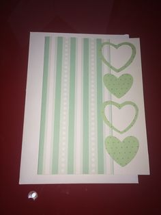 Greeting card DIY scrapbook imported papers