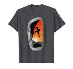 Vintage Rock, Retro Vintage, Climbing Carabiner, Rock Climbing, Hoodies, Sweatshirts, Branded T Shirts, Funny Shirts, Fashion Brands