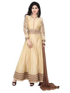 Get latest trend with exquisite beauty for your exclusive collection.  Item Code: SLTY1210B http://www.bharatplaza.com/new-arrivals/salwar-kameez.html