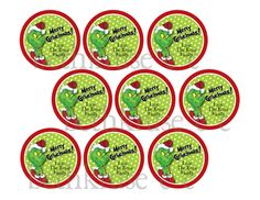 personalized grinch favor tag printable.