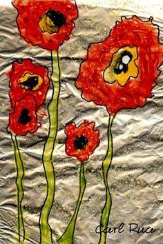 Artsonia Art Museum :: Poppies